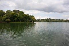 Hoger Seletar-Reservoir in Singapore Royalty-vrije Stock Foto