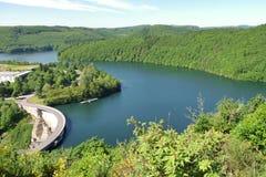 Hoger Zeker reservoir Stock Foto's