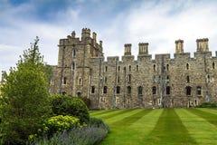 Hogere Afdeling in Middeleeuwse Windsor Castle het UK royalty-vrije stock afbeeldingen