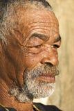 Hogere Afrikaanse mens royalty-vrije stock foto