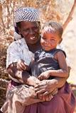 Hogere Afrikaanse vrouw Stock Foto