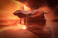 Hogere Antilopecanion, Pagina, Arizona stock foto's
