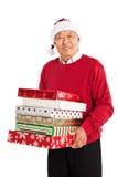 Hogere Aziatische het vieren Kerstmis Stock Foto's
