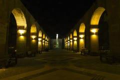 Hogere barraccatuinen, Malta Stock Foto's