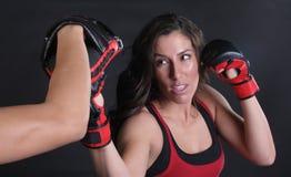 Hogere Besnoeiing MMA Royalty-vrije Stock Afbeeldingen