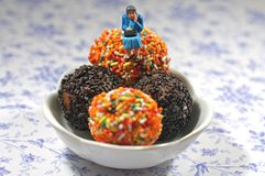 Hogere dalingen in doughnutgat Royalty-vrije Stock Foto's
