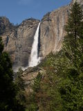 Hogere Dalingen Yosemite Stock Afbeeldingen