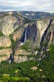 Hogere en Lagere Dalingen Yosemite Royalty-vrije Stock Afbeeldingen
