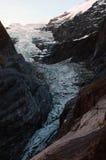 Hogere Gletsjer Grindelwald Stock Afbeelding