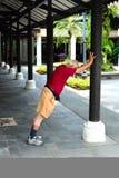 Hogere gymnastiek Stock Foto