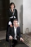 Hogere Man en Vrouw Royalty-vrije Stock Afbeelding