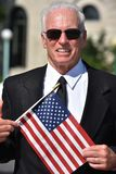 Hogere Mannelijke Politicus Or Veteran Smiling royalty-vrije stock foto