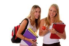 Hogere Meisjes 3 van de middelbare school Stock Foto