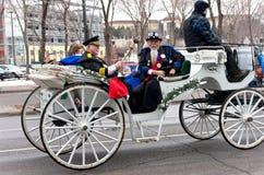 Hogere Royalty bij de Winter Carnaval Stock Foto's