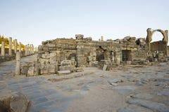Hogere Straat oude stad van Ephesus. Stock Afbeelding