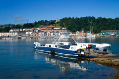 Hogere Veerboot Royalty-vrije Stock Foto's