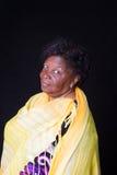 Hogere vrouw Afrikaanse Braziliaan Royalty-vrije Stock Foto's