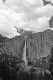 Hogere Yosemite-Daling, Yosemite, het Nationale Park van Yosemite stock afbeeldingen