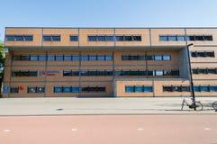 Hogeschool Utrecht som bygger Uithof Arkivbild
