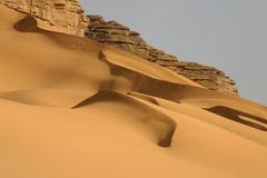 Hoggar Tassili Royalty Free Stock Photo
