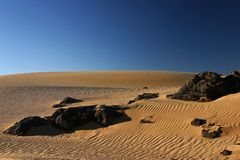 Hoggar Tassili Stock Photography