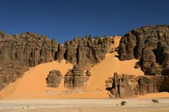 Hoggar Tassili Stock Photo