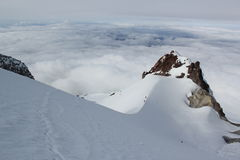 Hogsback auf Mt.-Haube Lizenzfreie Stockbilder