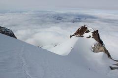 Hogsback en el capo motor del Mt. Imágenes de archivo libres de regalías