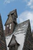 Hogsmaede安置哈利・波特环球电影制片厂的 免版税库存照片