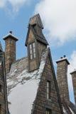 Hogsmaede Houses Harry Potter Universal Studio's Stock Photos