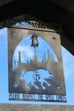Hogsmeade-Dorf an Wizarding-Welt von Harry Potter Lizenzfreie Stockfotografie
