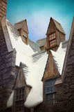 Hogsmeade przy universal studio, Hollywood, Los Angeles Obraz Stock