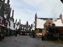 Hogsmeade. At Universal Studios Florida Stock Photo
