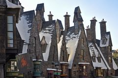 Wizarding World of Harry Potter, Orlando, Florida, USA royalty free stock photography