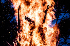 hoguera Foto de archivo libre de regalías