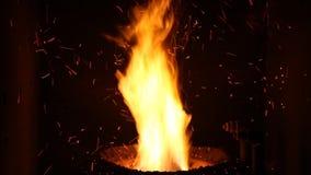 Hoguera 2 burning del fuego grande metrajes