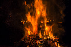 Hoguera ritual Fotos de archivo libres de regalías