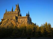 Hogwart castle royalty free stock photo