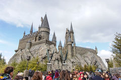 Hogwarts城堡 图库摄影