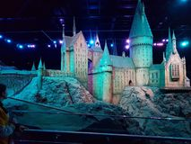 hogwarts стоковая фотография