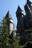 Hogwarts Castle. Hogwarts School of Witchcraft and Wizardry is home to Harry Potter and the Forbidden Journey at Universal's Island of Adventure Royalty Free Stock Image