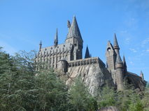 Hogwarts Castle. From the Harry Potter films situated in Islands of Adventure, Universal, Florida USA Stock Images