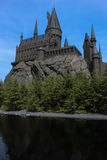 Hogwarts Castle. Hogwarts School of Witchcraft and Wizardry Stock Images