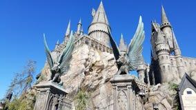Hogwarts castle stock image