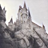 hogwarts royalty-vrije illustratie