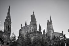 Hogwarts de Harry Potter foto de archivo libre de regalías