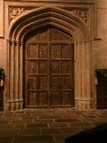 Hogwarts drzwi Zdjęcia Royalty Free