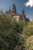 Hogwarts en las islas universales de la aventura Orlando Foto de archivo