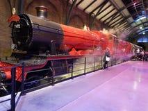 Hogwarts express stock photo