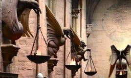 Hogwarts Grote Zaal, Warner Bros Studio Stock Fotografie